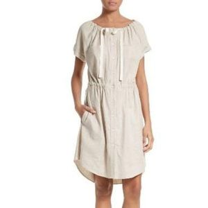 Theory dress with tie at the neck
